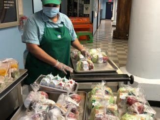 تامین غذای رایگان در نیویورک در دوران کرونا
