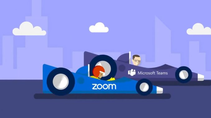 رقابت مایکروسافت، زوم و اسلک