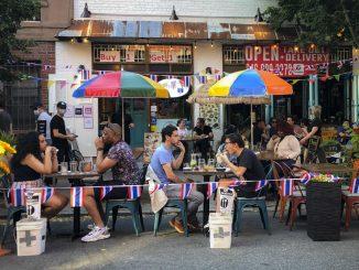 فعالیت رستورانهای نیویورک در فضای باز