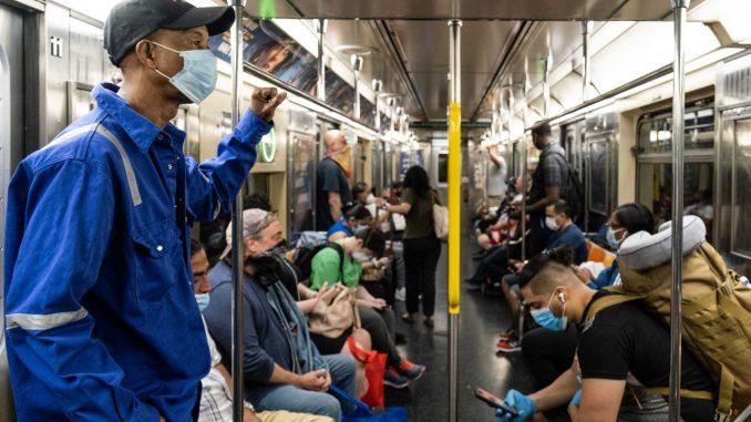 حملونقل عمومی و بالا رفتن نرخ مرگومیر کرونا