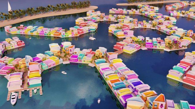 مالدیو برای مقابله با تغییرات اقلیمی، شهر شناور میسازد
